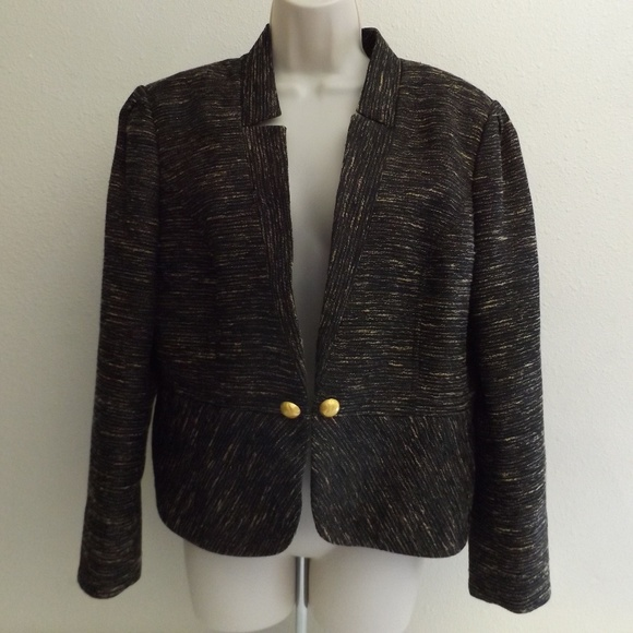 Twinhill Jackets & Blazers - MARY KAY By Twinhill Sculpted Peplum Jacket Sz 16P
